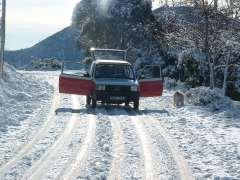 Découverte de l'Estérel L'Estérel sous la neige Janvier 2005