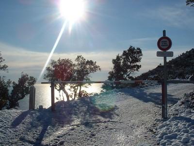 L'Estérel sous la neige